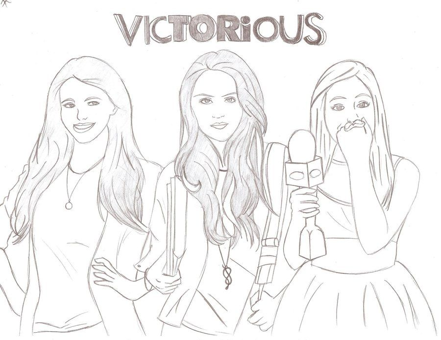 Victorious Coloring Pages To Print
