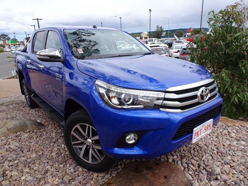 2017 Toyota Hilux 4x4 Sr5 2.8l T Diesel Automatic Double