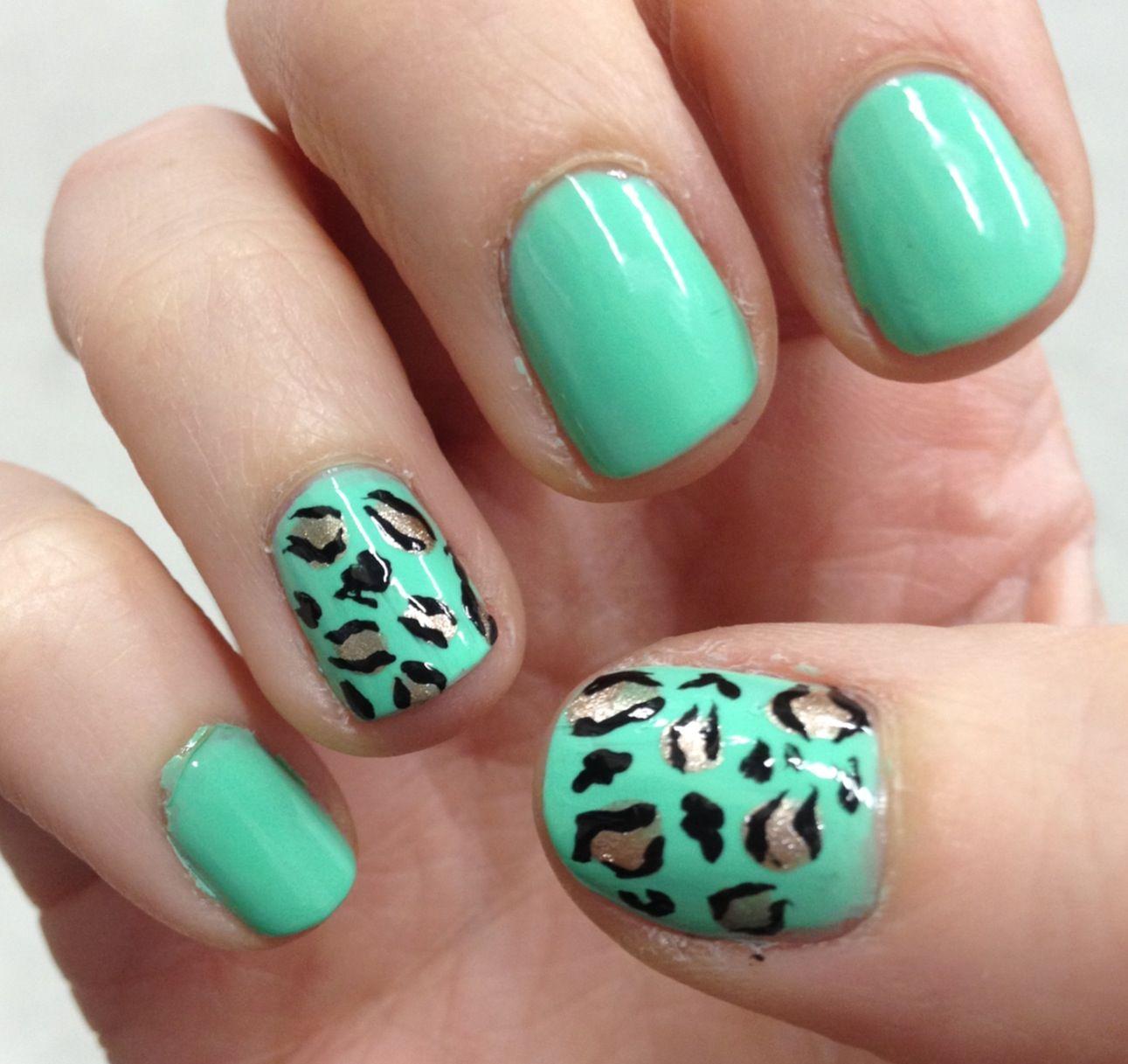 Mint leopard