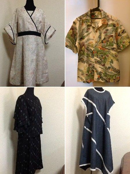 和布コレ夏の着物リメイク、今月も色々とお作りしました。有難うございます♡ 8月オーダー作品ぜひご覧下さいませ♪  http://blog.kobecoffee.com/2014_08_01_archive.html