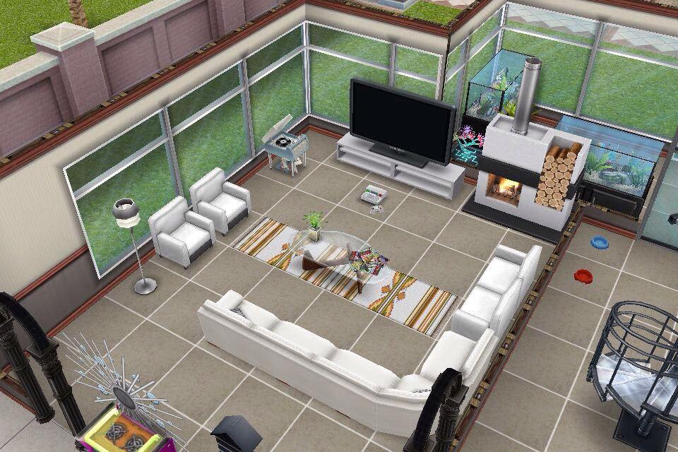 House 2 / ground floor / living room / scandanavian ...