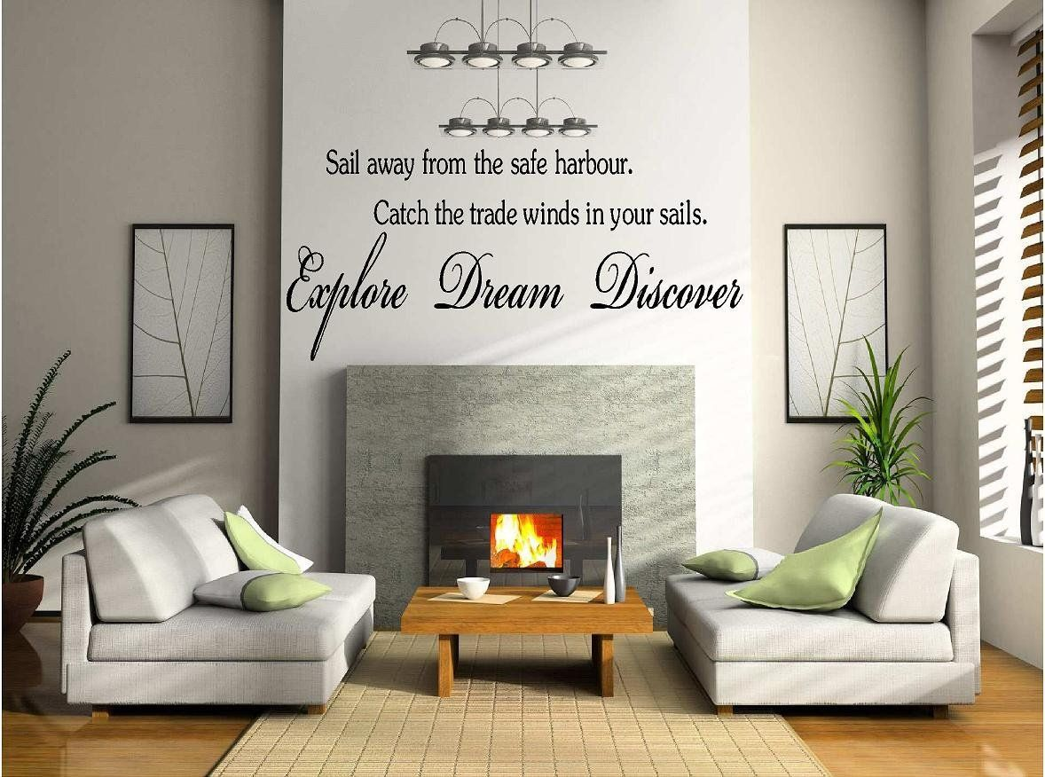 Quote it sail away from the safe harbor vinyl wall quotes quote it sail away from the safe harbor vinyl wall quotes wall decals wall murals inspirational wall quotes wall stickers home decor find out amipublicfo Images