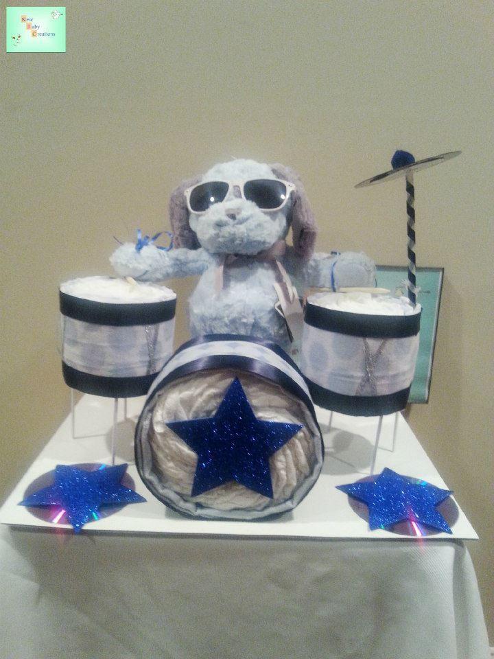 Cowboy Nappy Cake