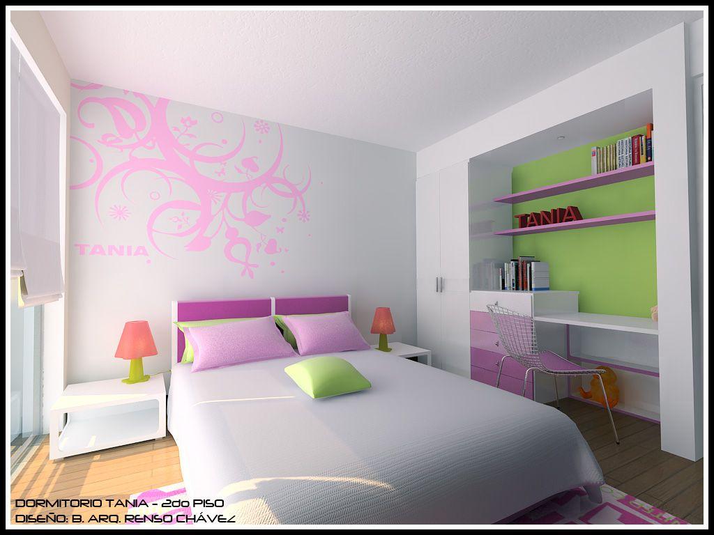 Una mujer debe tener dinero y una habitaci n propia si - Decoracion dormitorios juveniles modernos ...