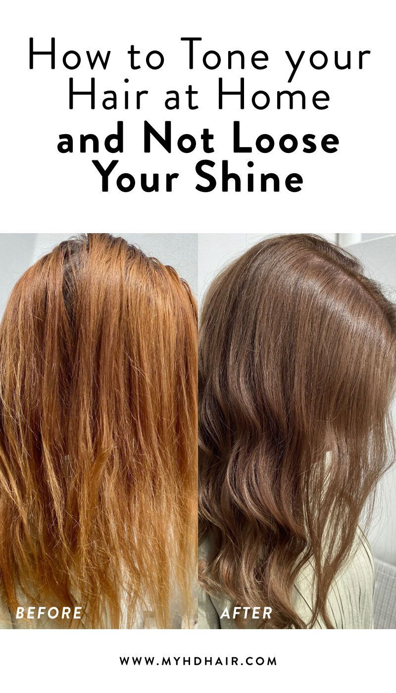 How to Tone your Hair at Home and Not Lose Your Shine in