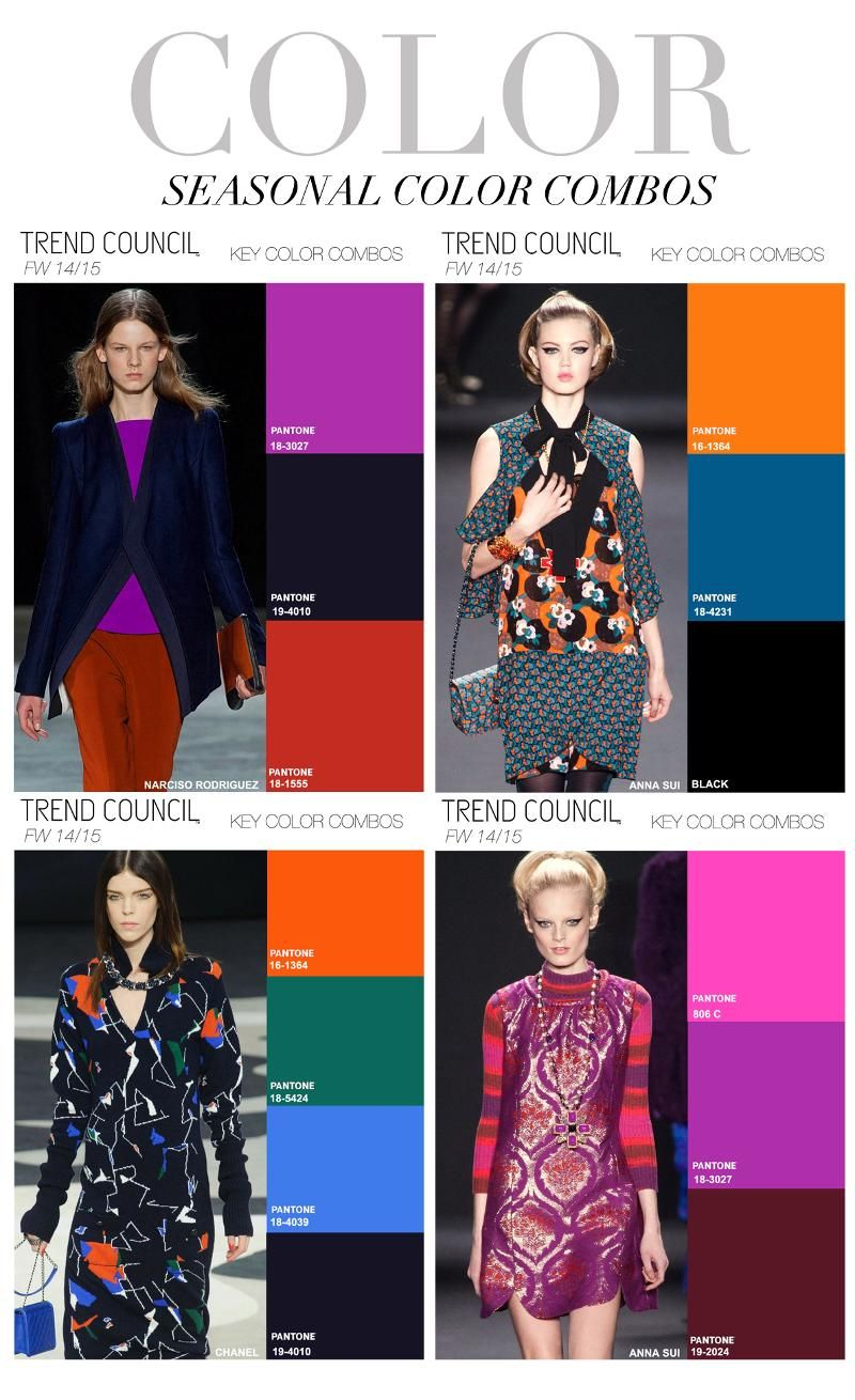 Color Trends In 2015 - Autumn winter colours 2014 trends 2014 2015in 20142015 color