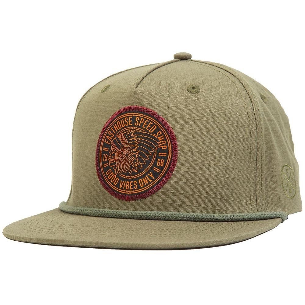 Fasthouse Chief Olive Snapback  77ec13cd0d9