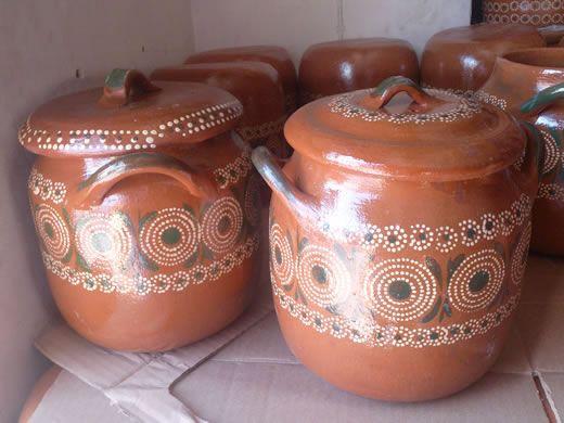 Venta de ollas mexicanas de barro. ideal para cocer frijoles o ...