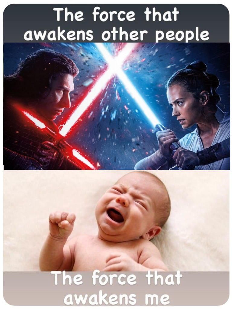 The Force Is Strong With This One Thorgift Com If You Like It Please Buy Some From Thorgift Com Funny Memes Star Wars Memes Movie Memes