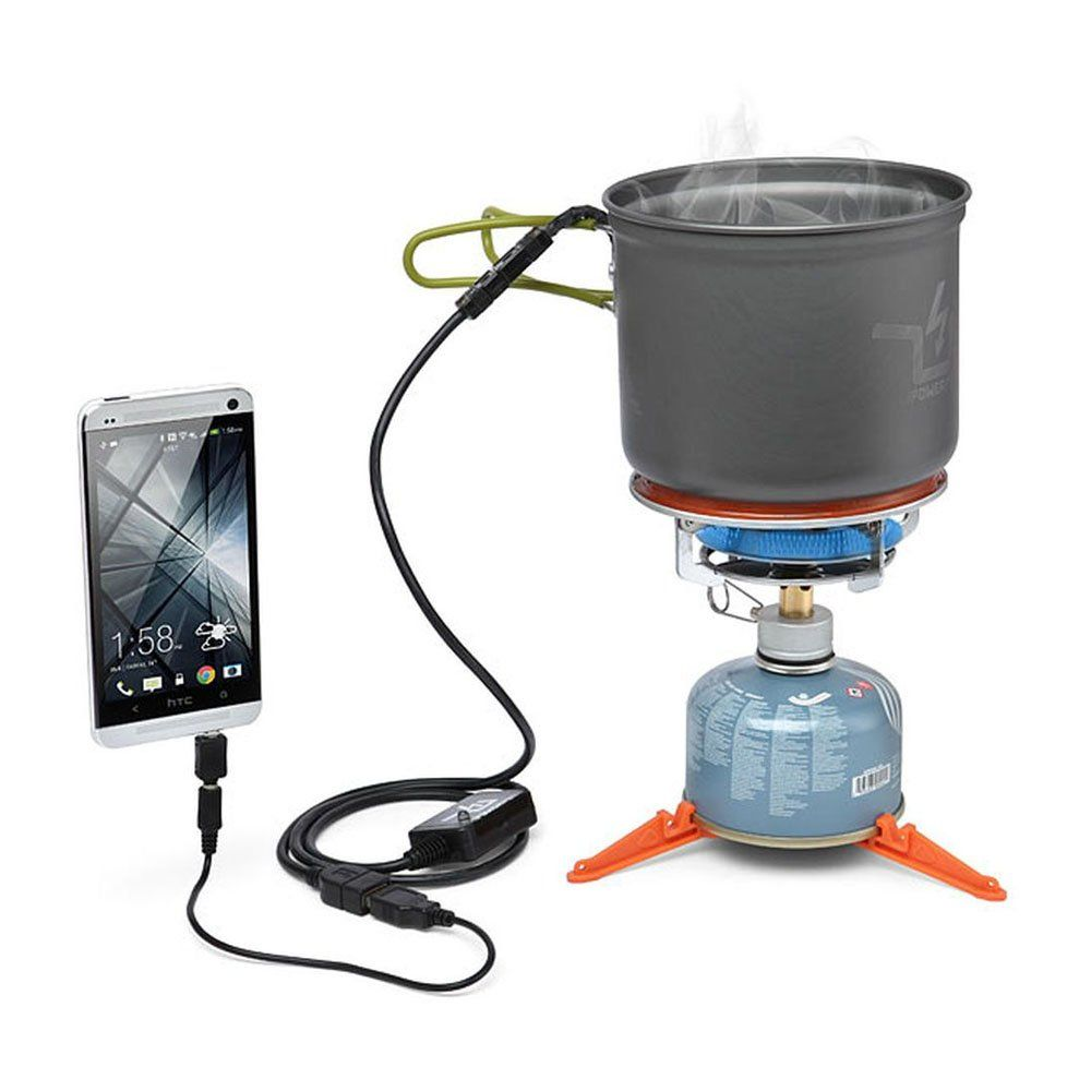 This innovative pot recycles waste heat and generates electricity for your devices. Make coffee and charge your smart phone at the same time.