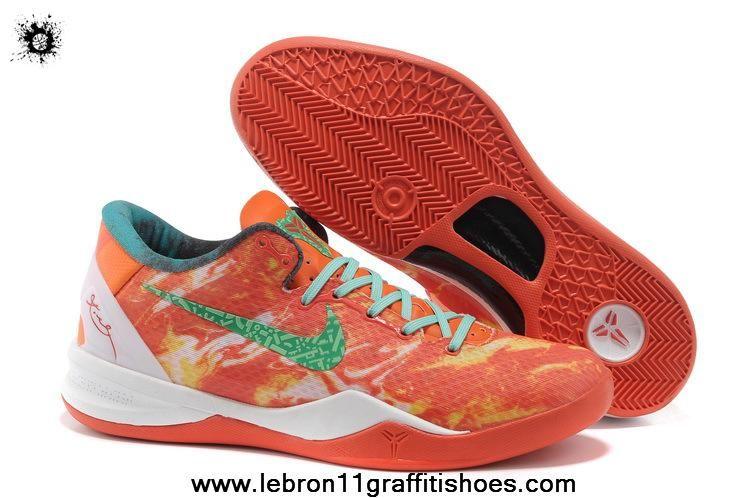 buy popular d5f02 9d01c Nike Kobe 8 System All-Star Bright Citrus Sport Turquoise-Total Crimson  587553 800 Latest Now