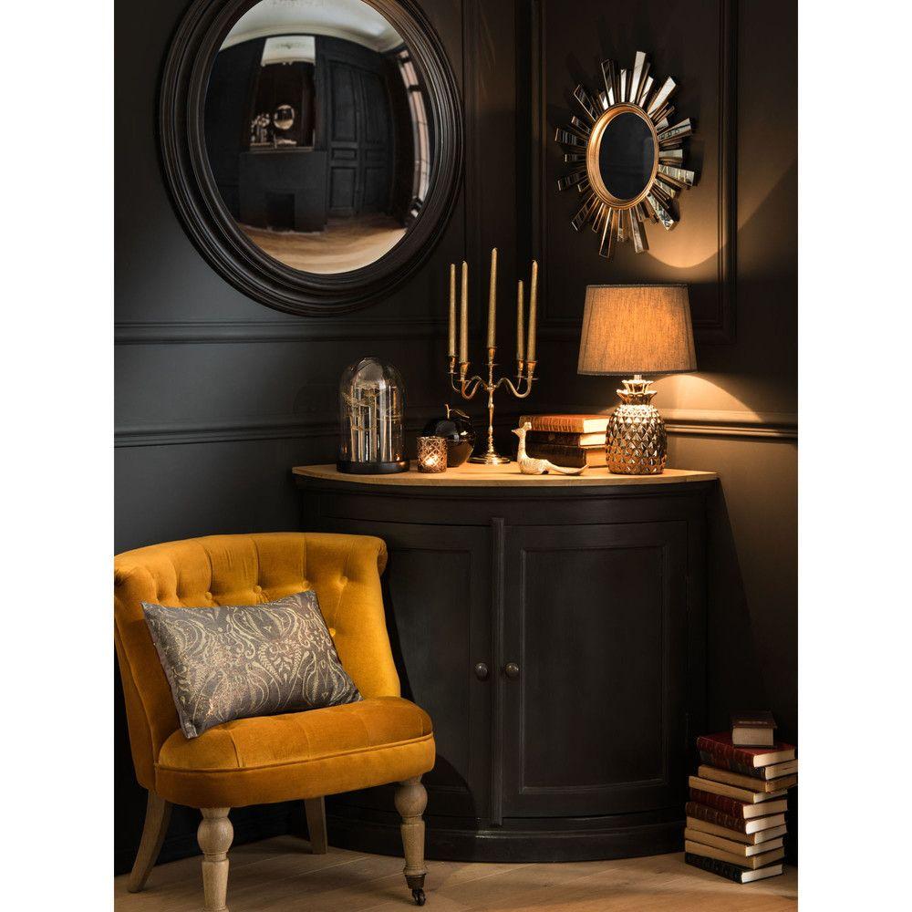 Miroir Soleil Dore Effet Vieilli D48 Interiors Mirror Home