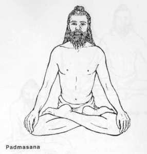 Padmasana Or Lotus Pose Yoga Articles Yoga Lotus Yoga