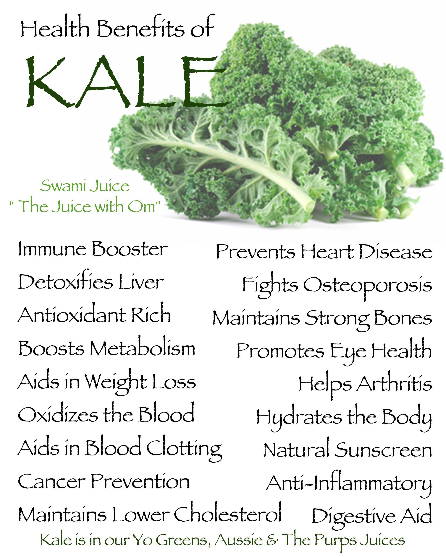 kale benefits! make kale your new best friend! #swamijuice