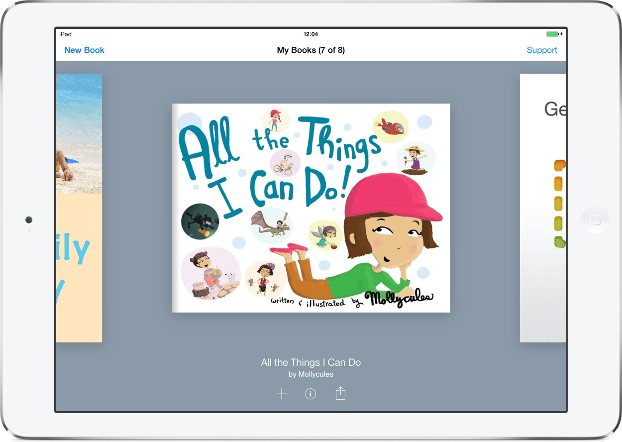 Book Creator is a simple EdTech tool to create ebooks on