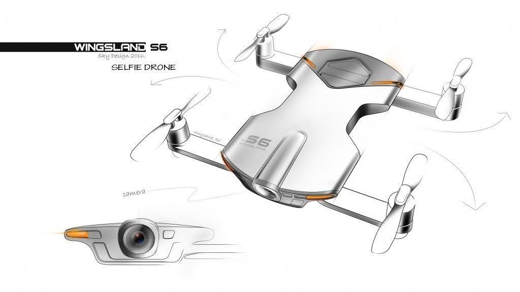 Wingsland S6 Mini Drone Selfie De Poche Wifi Fpv Uhd 4k Gps Autonome Follow Me U Drone Shop Bordeaux