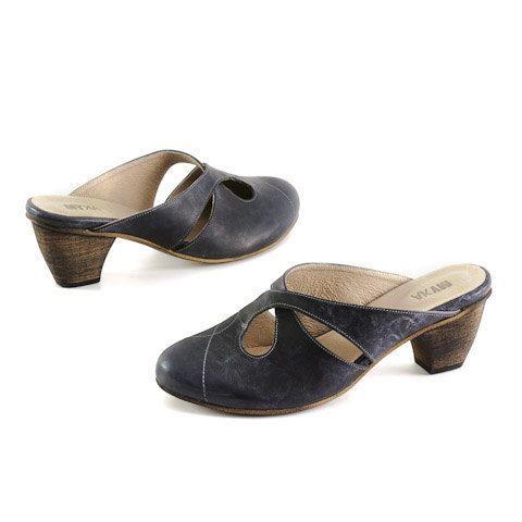 High heels clogs black clogs by MYKAshop on Etsy