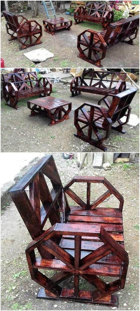 Latest DIY Ideas to Recycle Used Wooden Pallets
