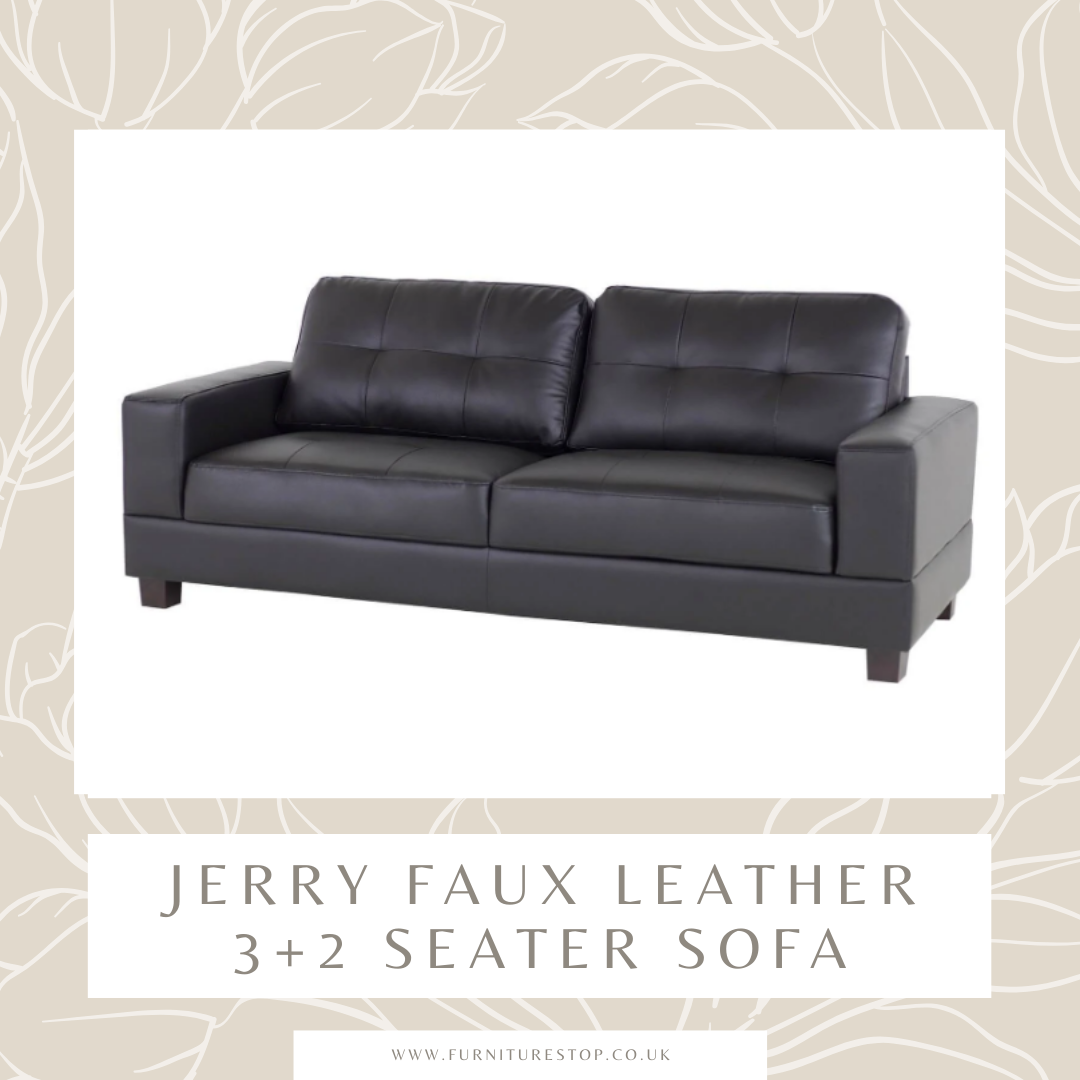 The Jerry Sofas Are Built With High Quality Faux Leather To Create Furniture Of The Highest Class Https Www Furniturestop Co In 2020 Seater Sofa Sofa Sofa Armchair