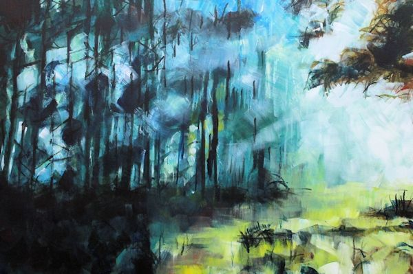 Forest Landscape Painting 2 Abstract Realist Art For Sale Contemporary Landscape Artists Abstract Artists Abstract Photography