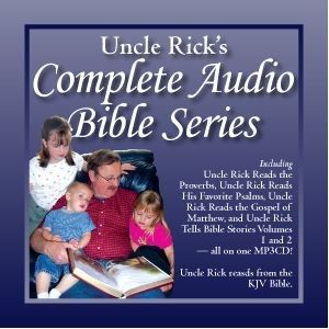 Uncle Rick`s Complete  Audio Bible Series CD's $75