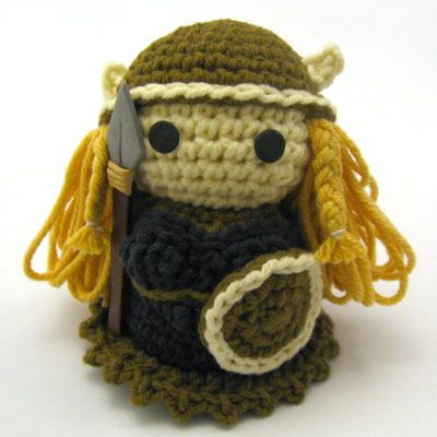 Creepy Cute Expansion Pack #2: The Valkyrie   NeedleNoodles: Crochet ...
