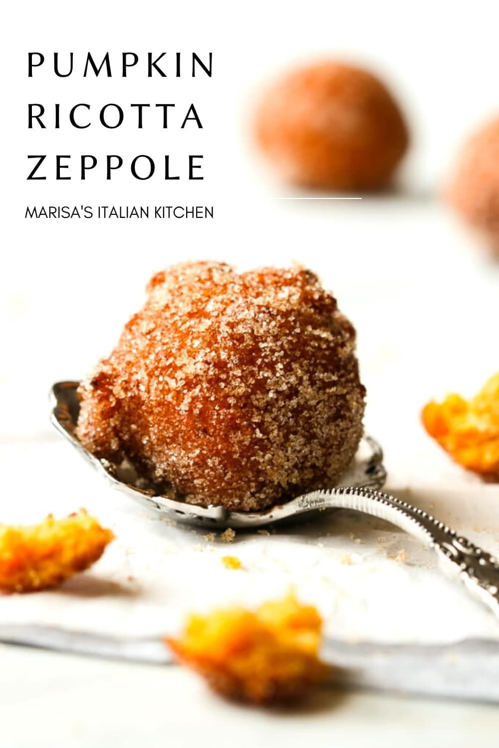 Photo of Pumpkin Ricotta Zeppole