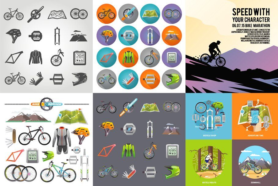 Bicycling Set