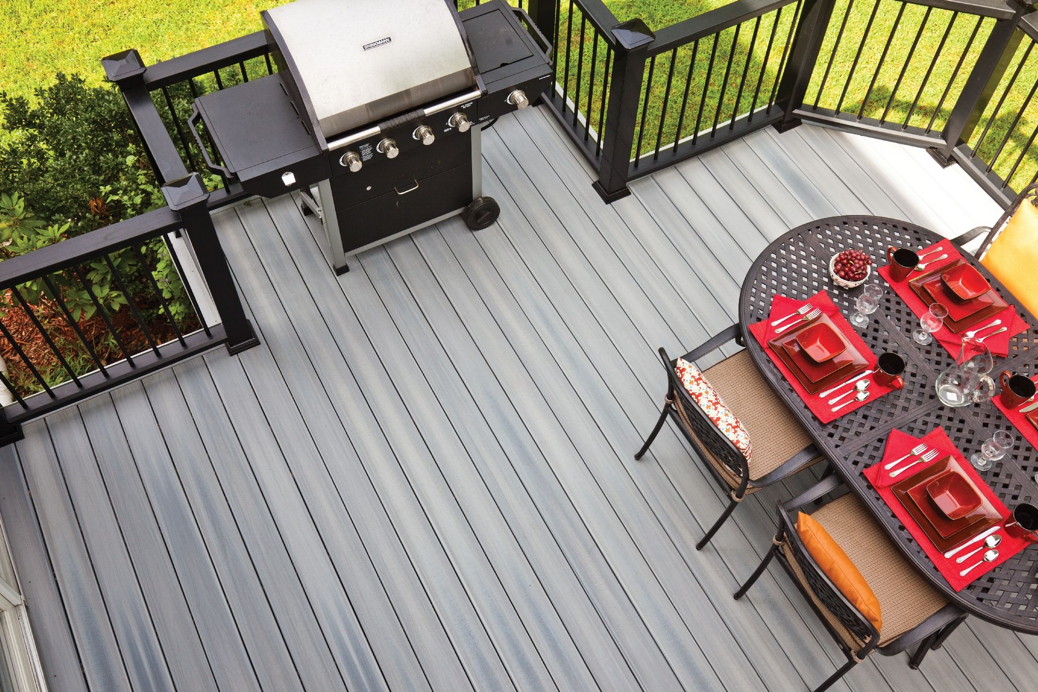 Upstairs Deck Color Ideas Deck Colors Composite Decking Upstairs Deck Ideas
