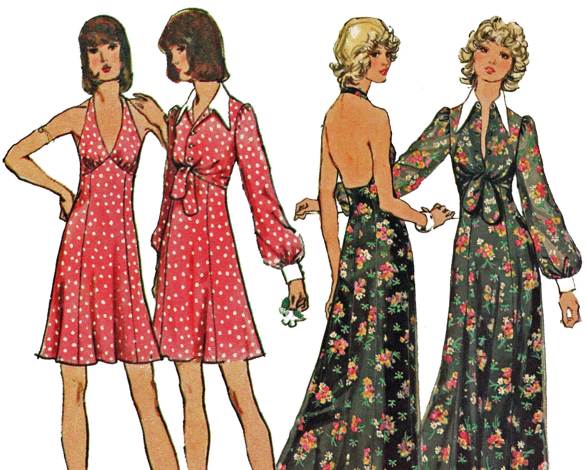 Halter Maxi Dress Bolero Pattern Size 12 Vintage 70s Etsy Bolero Pattern Sundress Pattern Bolero Dress [ 2000 x 2500 Pixel ]