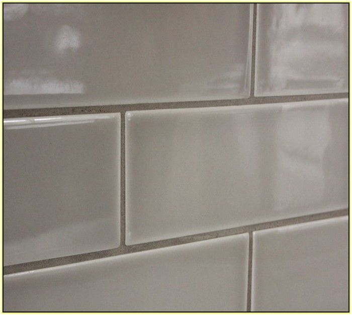 Gray Subway Tile Backsplash Ceramic Decorative Kitchen