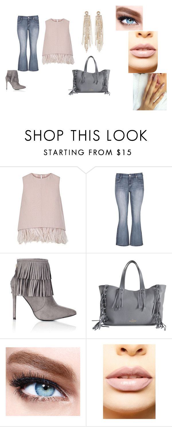 """""""Untitled #205"""" by mackenziekorth on Polyvore featuring The 2nd Skin Co., maurices, Wallis, Valentino, Maybelline, LASplash and Charlotte Russe"""