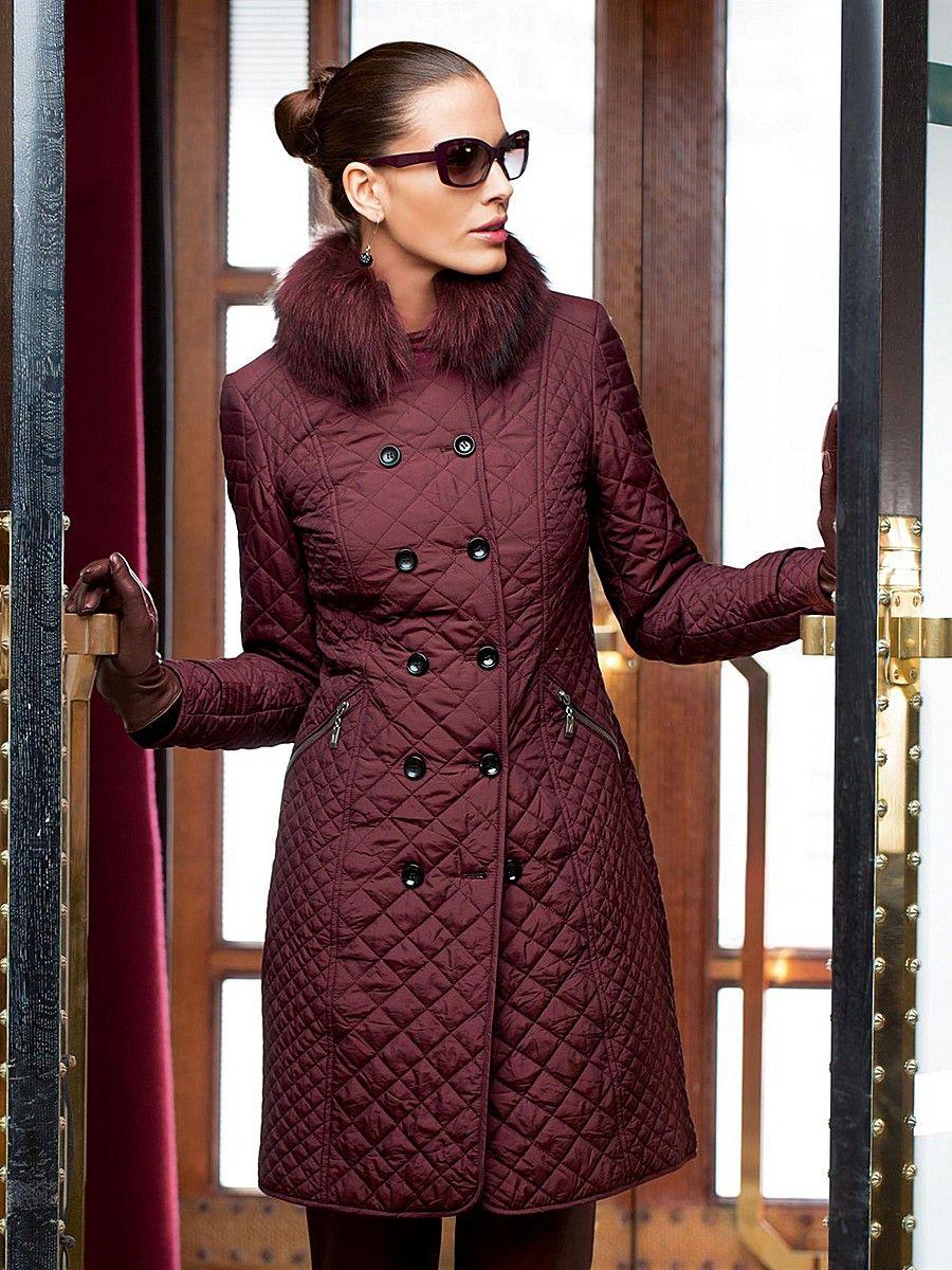 Женское стеганое пальто (94 фото): с капюшоном, из ...