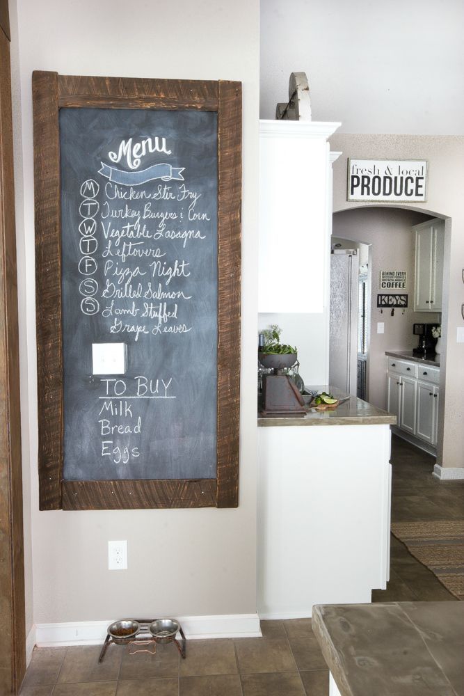 Modern Farmhouse Kitchen Makeover Reveal Crafts And Diy Modern