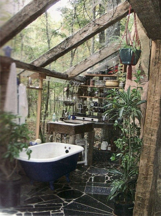 Amazing Outdoor Bathroom Shower Ideas You Can Try In Your Home Interiors Pinterest Bathrooms And Tropical Decor