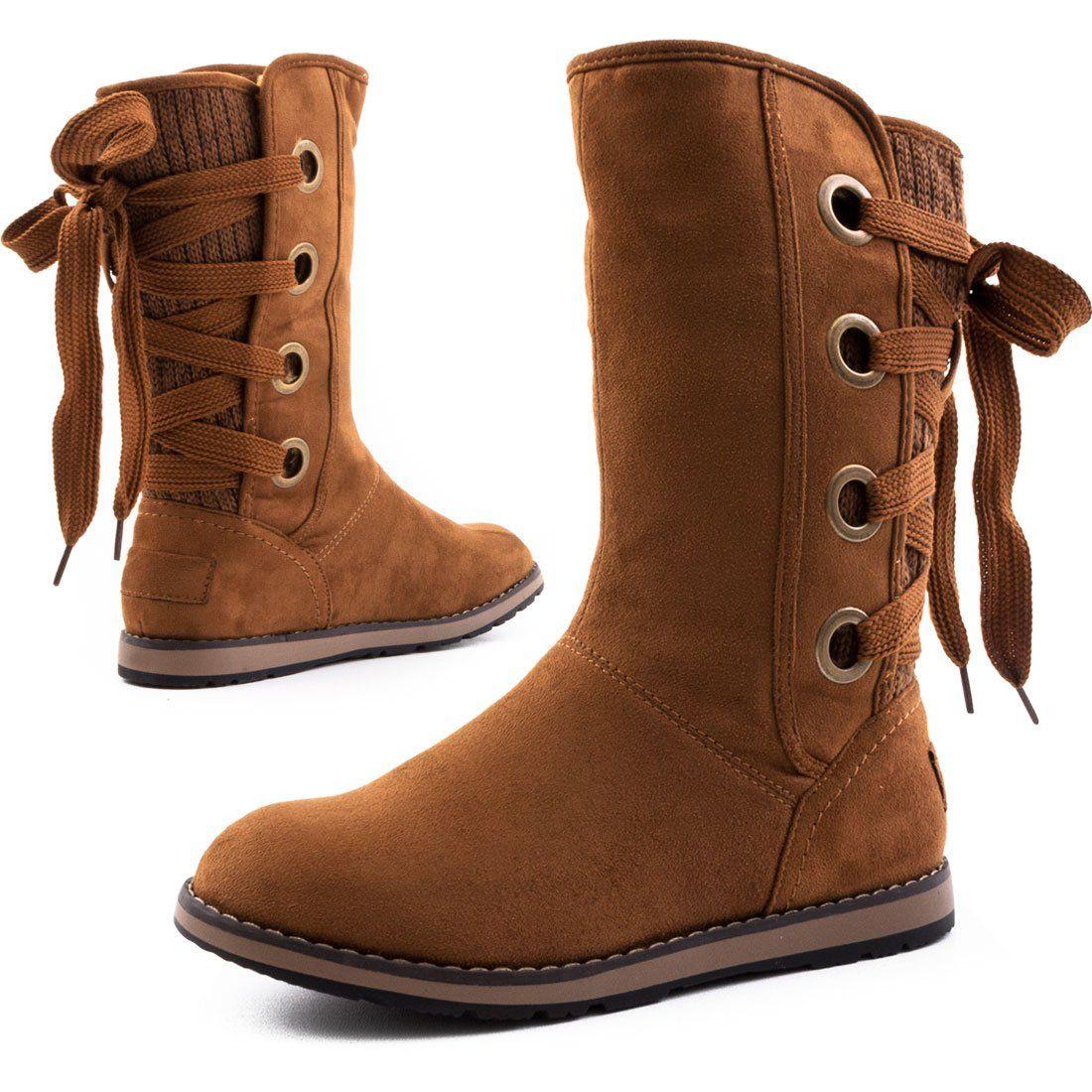 Gefüttert Damen Boots Stiefel Wildlederoptik Stiefeletten In hsCxtrdQ