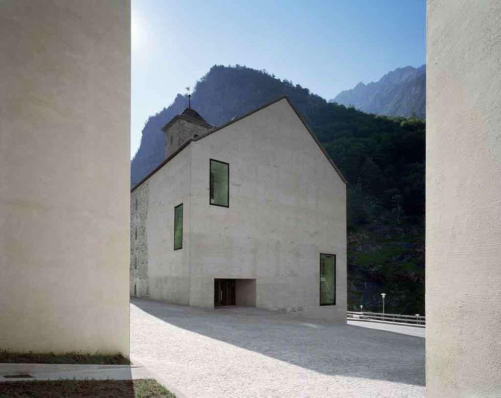 Wiederaufbau Gemeinde Gondo - DURRER LINGGI ARCHITEKTEN