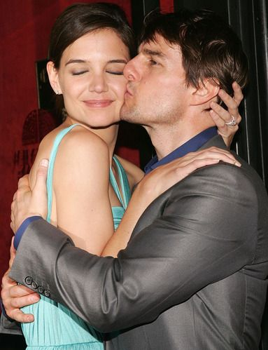 Awkward Kisses Tom Cruise And Katie Holmes 2008 At The Mad