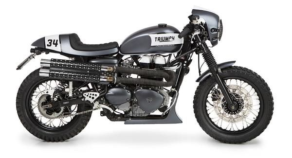 Modelo: Triumph Thruxton  Año: 2004 carburación  Fabricante: Triumph By Tamaritmotorcycles.com