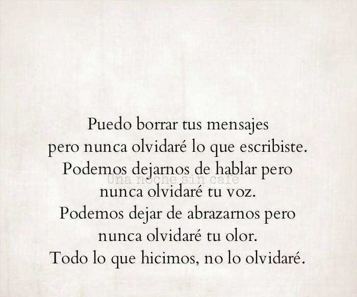 Pero Nunca Te Olvidaré Citas De Amor Frases De
