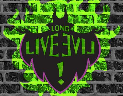 Check Out This Behance Project Logo Long Live Evil Do Filme Descendentes Https Disney Descendants Party Disney Channel Descendants Disney Decendants