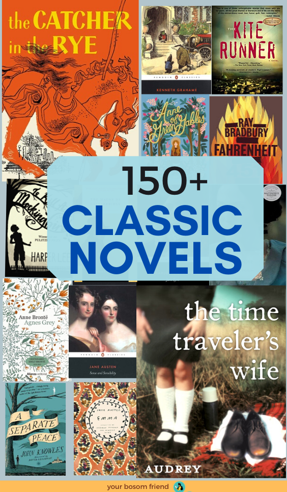 150+ Classic Books Every Book Lover Should Read In Their ...