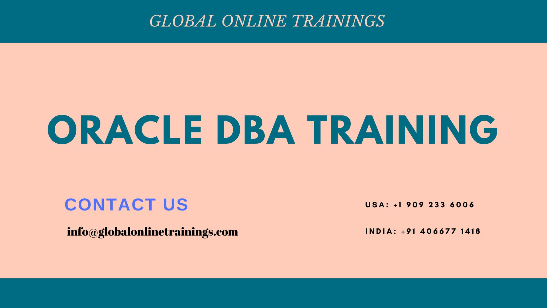 Oracle DBA Training to design and secure all server