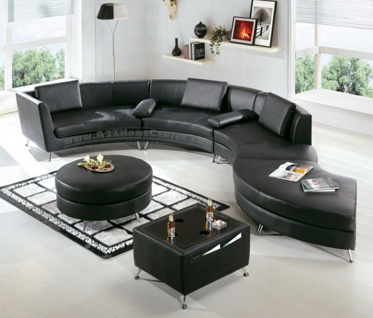 Elegant Black Leather Furniture Set Of Modern Living Room Design Brilliant Black Leather Living Room Furniture Inspiration