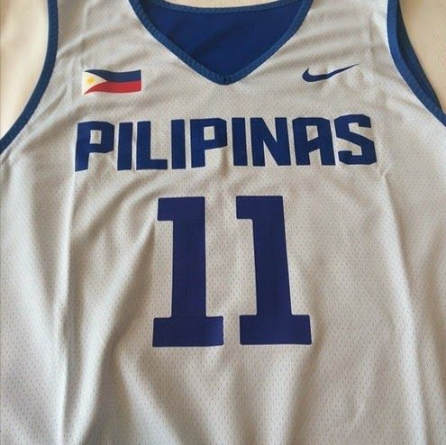 6366ab5dc783 All About Sports  Andray Blatche Gilas Pilipinas Jersey   11 300 Game