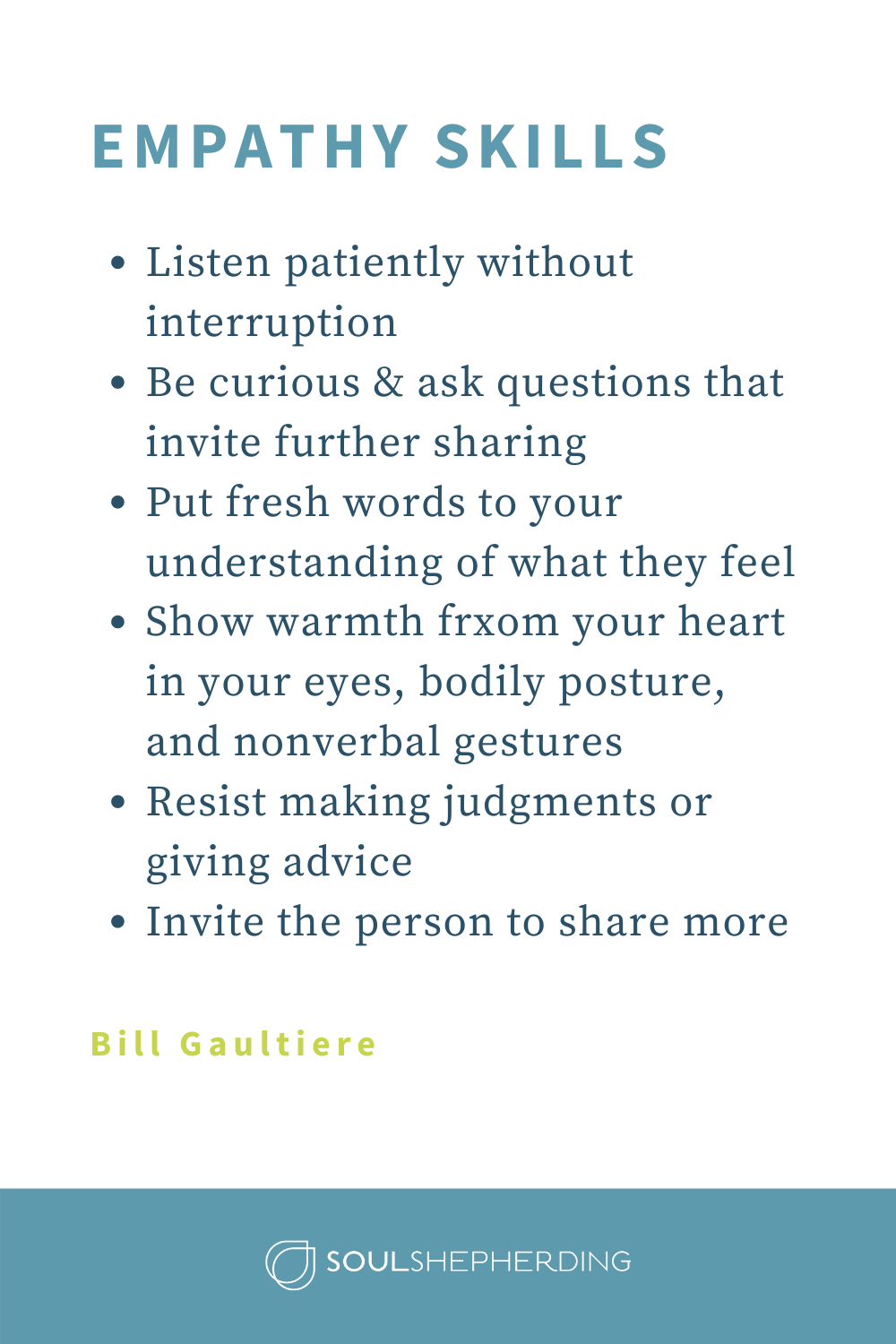 How to Practice + Grow in Your Empathy Skills