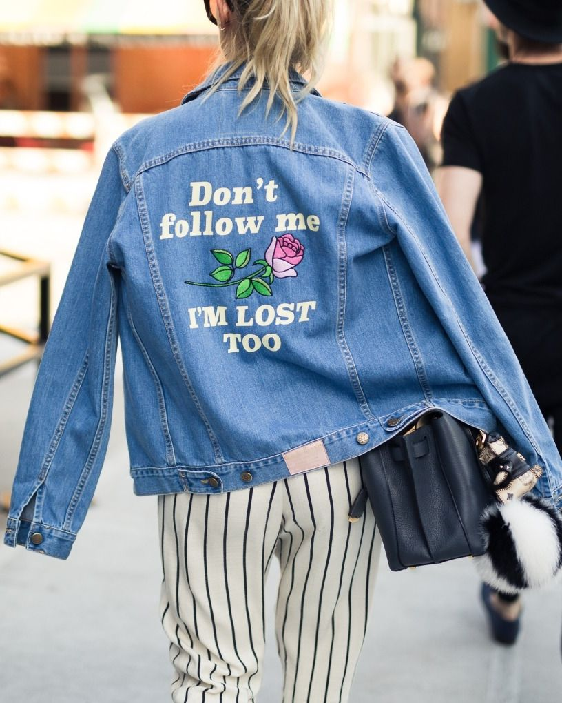 See the Best Street Style From NYFW Men s Shows   I NEED THIS JACKET 1fc6ced6e6e