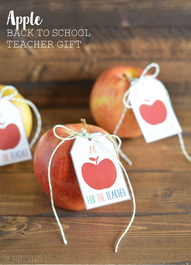 Apple Back to School Teacher Gift - seven thirty three
