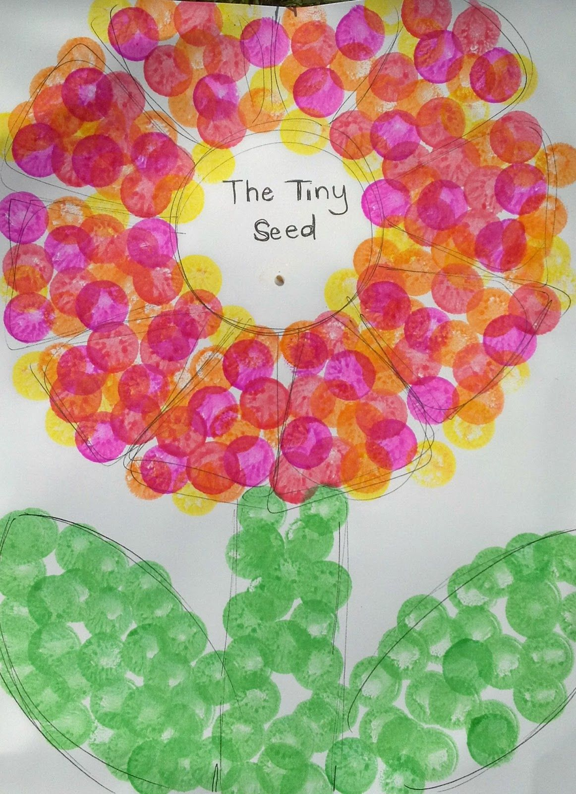 The Tiny Seed By Eric Carle Tiny Seed Craft To Celebrate