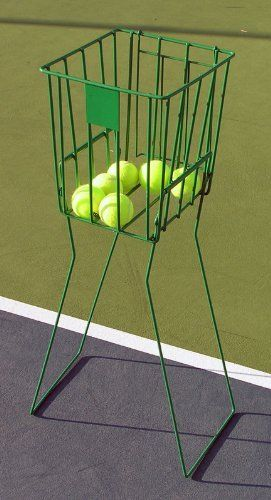 70 Ball Capacity Tennis Ball Hopper Basket By Wdb 29 99 Quickly Pick Up Tennis Balls With This Tennis Ball Basket Basket Tennis Ball Tennis Balls Cloth Bags